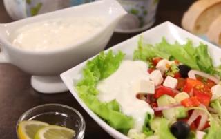 Готовим йогуртовый соус-фреш с Лукоморье от шеф-повара
