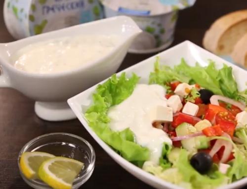 Готовим йогуртовый соус-фреш