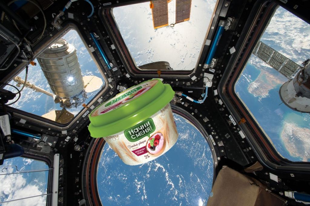 День космонавтики 2018 наш готовый завтрак вышел на новую арбиту рынка молочных продуктов