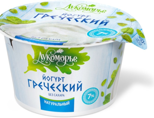 Йогурт греческий натуральный без сахара